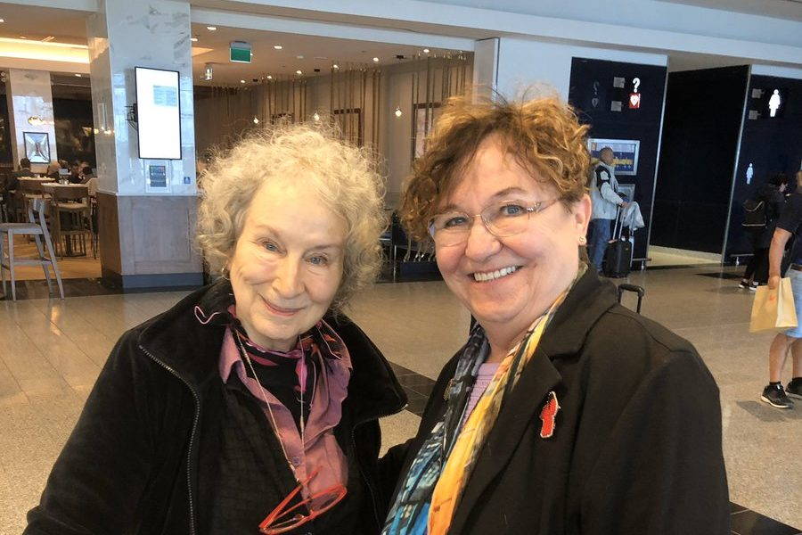 Speaking with Margaret Atwood about forced sterilization
