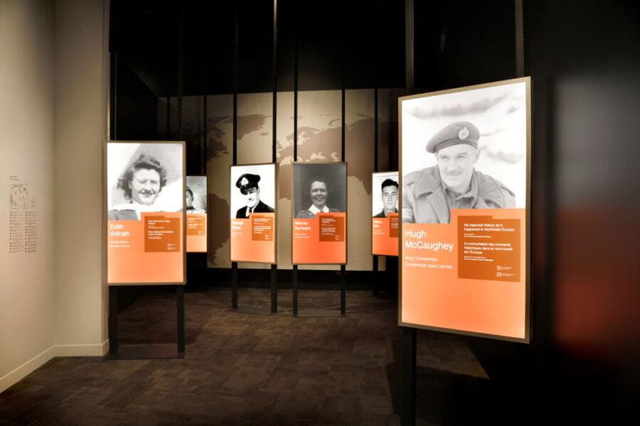 Musée canadien de la guerre, Archives institutionnelles = Canadian War Museum, Institutional archives
