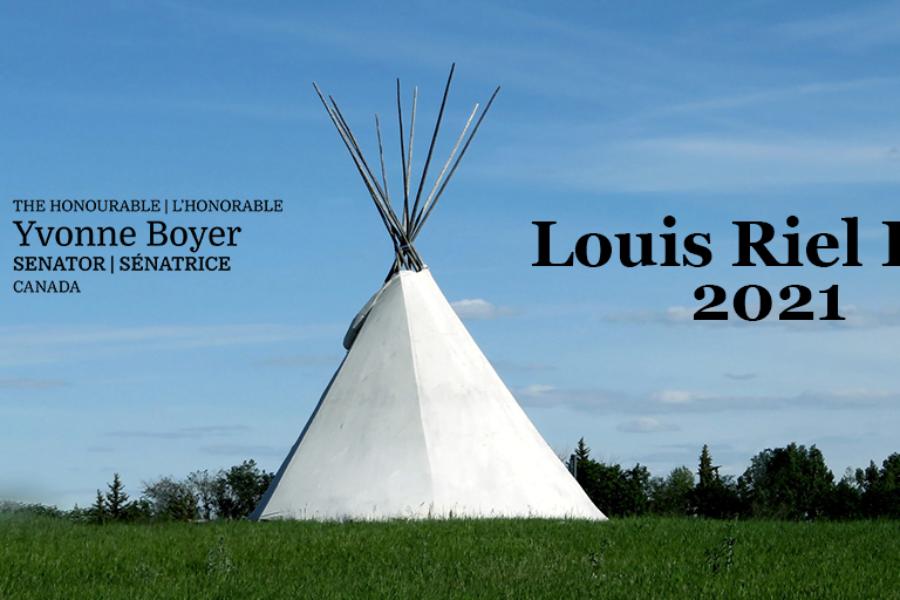 Louis Riel Day 2021
