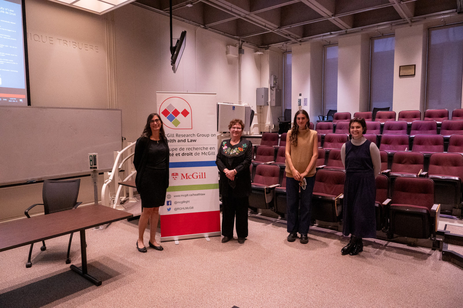 2021 Annual Lecture for the  McGill University Research Group on Health and Law – The intersect of health and the law; an Indigenous journey