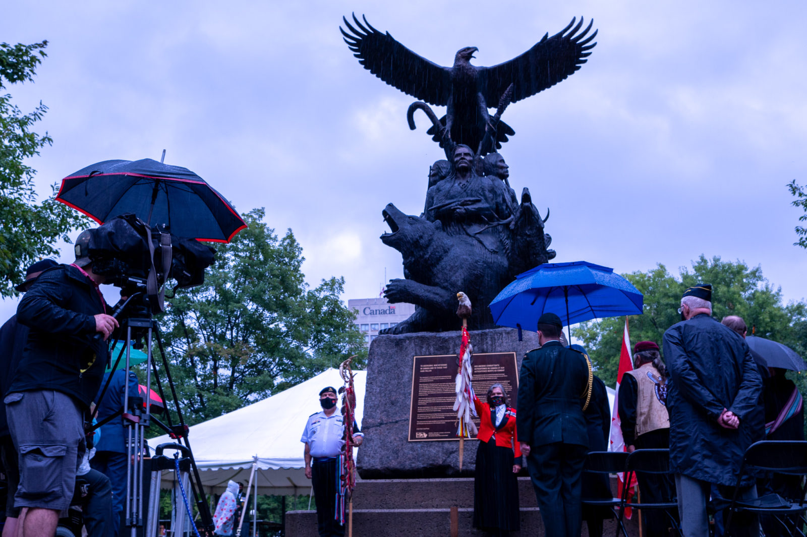 Annual Ceremony of Remembrance for Indigenous Veterans
